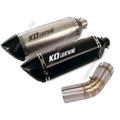 KO Lightning / 470mm Type:A~D スリップオン マフラー / スズキ V-ストローム V-STROM 1000 2014- ( VU51A )