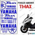 グラフィック デカール TMAX 08-11 KIT FOGLIO  ブルー 500