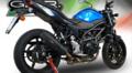 イタリア GPR GPE EVO ブラックチタン スリップオンマフラー(公道仕様) SUZUKI SV650 2017- S.193.GPEBLT