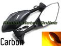 G.selections / アグスタ F4 カーボンルック 18個LED ウインカー フェアリング用 ミラー  MV Agusta f4 carbon mirror