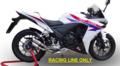 イタリア GPR THS THUNDERSLASH ショート レーシング スリップオン マフラー (競技走行専用)CBR400R CB400F CB400X 2013-H.220/221/222.RACE.THS