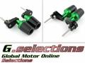 G.selections / フレームスライダー クラッシュガード カバー プロテクター / Kawasaki カワサキ  NINJA400 ニンジャ 400 / 250 2018- ( EX400G )( EX250P )/ 3色