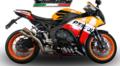 イタリア GPR THUNDERSLASH ショートレーシング スリップオン マフラー CBR1000RR 14- (競技走行専用) H.242.RACE.TH
