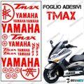 グラフィック デカール TMAX 01-07 FOGLIO 500 レッド