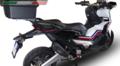 イタリア GPR GPE EVO ブラックチタン (GPEBLT) スリップオン マフラー HONDA X-ADV 750 2017- H.245.GPEBLT