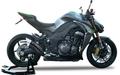 IXRACE Z7 ブラック S/O マフラー Z1000/Ninja1000 10-14 QK7374/75B