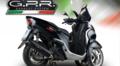 イタリア GPR / FURORE NERO (FUNE) ブラック フルエキゾースト マフラー / ヤマハ トリシティ125 YA.8.FUNE