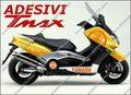 グラフィック デカール オレンジ TMAX500 08-11KIT