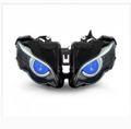 Demoneyes デーモンアイ HID プロジェクター LED ヘッドライトユニット ブルー ホンダ CBR1000RR 2008-2011 ウィンカー付き
