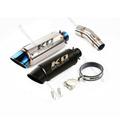 KO Lightning / 245mm/300mm Type:A~F スリップオン マフラー / カワサキ ニンジャ250/400 Z250/Z400 2017- ( EX400G )( EX250P )