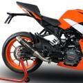 イタリア GPR / DC ディープトーン カーボン スリップオンマフラー  / KTM RC390 2017-  /KTM.90.DC