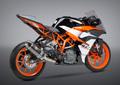 USヨシムラ / R-77 カーボン 3/4システム レーシング マフラー / KTM RC390 RC250 2017- 163815J720