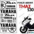 グラフィック デカール TMAX530 KIT FOGLIO  ブラック