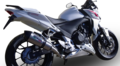 イタリア GPR GPE TITANIUM チタン スリップオン マフラー(公道仕様) CBR400R CB400F CB400X NC47 2013- H.222GPE
