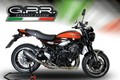 タリア GPR / FURORE EVO4 NERO スリップオン マフラー(公道仕様) / Kawasaki Z900RS 2018- ( ZR900C )