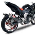 USヨシムラ TRS カーボン デュアル スリップオン マフラー Z1000 07-09  1411262