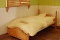 ブライス(30センチ級)の木のベッド &布団