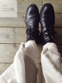 【送料無料】space craft SC-270 二種の靴紐付 キャメルレザーのハイカットブーツ