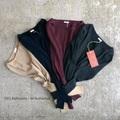 ラスト1点*JoeMc comm.arch. Needleout Rib Roundneck pullover