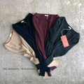 JoeMc comm.arch. Needleout Rib Roundneck pullover