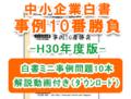 中小企業白書事例10番勝負-H30年度版-