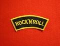 <SHOULDER PATCH> ROCK'N'ROLL