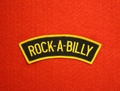 <SHOULDER PATCH> ROCK'A'BILLY