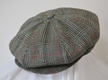 AC-001-SP 20's Style Casquette Vintage fabric Sportex DORMEUIL  B-TYPE