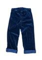 AP-052 INDIGO CORDUROY BAGGY PANTS