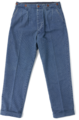 AP-065-2 COTTON DUCK WABASH STRIPE TWO PLEATED TROUSERS  (SIZE-36)