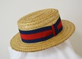 AHT-013 STROW BOATER HAT (CHAMP)