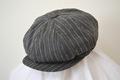 AC-107 20's Style Original Cotton Stripe Casquette