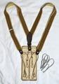 ABC-032-C BEIGE  French Vintage Parts Suspender