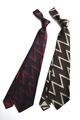 ANT-058 Zigzag Pattern Silk Original Jacquard Tie