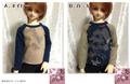 U162 SD~SD17 和柄ロングTシャツ