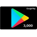 Google Play コード 3,000円