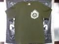 赤煙突同志Tシャツ(緑)