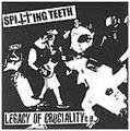 【中古】SPITING TEETH - LEGACY OF CRUCIALITY 7''
