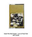 Real Project Live at Flood fest Cassette