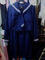 越谷市立武蔵野中学校  冬服◆セーラー服