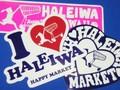 *Haleiwa Hawaii*【とってもPOPな】★HALEIWA ステッカー tora (ハワイ シール ステッカー)