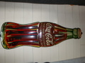 1923年製、Cokeティーサインボトル(クリスマスモデル)