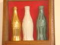 ボトル・コレクション(ゴールド、クリスマスボトル、日本の金属製ボトル)
