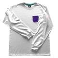 Piece Name POCKET Long T-shirt【WHITE】