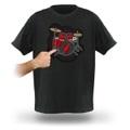 音が出るTシャツ     ドラムキット