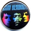 ジミ・ヘンドリックス    缶バッジ