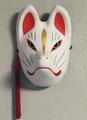 仙狐面(白)