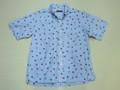 SUNSURF サンサーフ 半袖フラガールB/Dシャツ(ブルー)