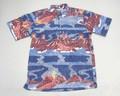 REYN SPOONER レインスプーナー 半袖プルオーバーB/Dシャツ(ヴォルケーノ国立公園 ピーコック)