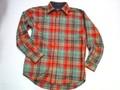 PENDLETON ペンドルトン ウールロッジシャツ(グリーン×オレンジ)